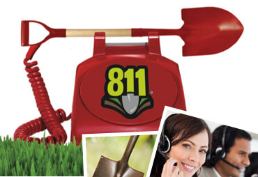 Call Before You Dig! 811