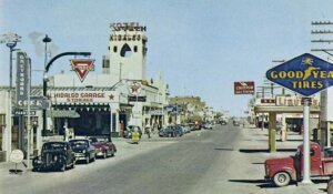 Downtown Lordsburg, NM